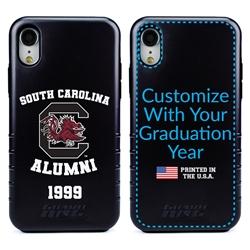 Collegiate Alumni Case for iPhone XR – Hybrid South Carolina Gamecocks
