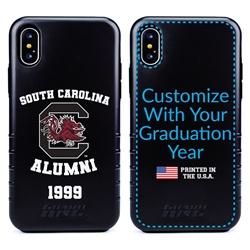Collegiate Alumni Case for iPhone XS Max – Hybrid South Carolina Gamecocks