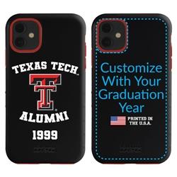 Collegiate Alumni Case for iPhone 11 – Hybrid Texas Tech Red Raiders
