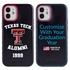 Collegiate Alumni Case for iPhone 12 Mini – Hybrid Texas Tech Red Raiders