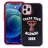 Collegiate Alumni Case for iPhone 12 / 12 Pro – Hybrid Texas Tech Red Raiders