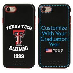 Collegiate Alumni Case for iPhone 7 / 8 / SE – Hybrid Texas Tech Red Raiders
