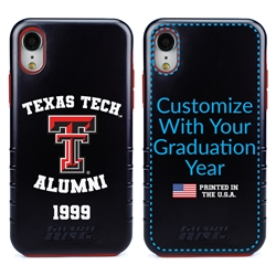 Collegiate Alumni Case for iPhone XR – Hybrid Texas Tech Red Raiders
