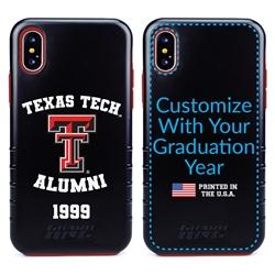 Collegiate Alumni Case for iPhone XS Max – Hybrid Texas Tech Red Raiders