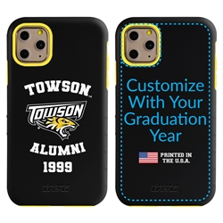 Collegiate Alumni Case for iPhone 11 Pro Max – Hybrid Towson Tigers