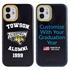 Collegiate Alumni Case for iPhone 12 Mini – Hybrid Towson Tigers