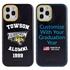 Collegiate Alumni Case for iPhone 12 / 12 Pro – Hybrid Towson Tigers