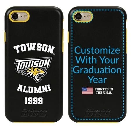 Collegiate Alumni Case for iPhone 7 / 8 / SE – Hybrid Towson Tigers