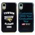 Collegiate Alumni Case for iPhone XR – Hybrid Towson Tigers