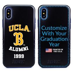 Collegiate Alumni Case for iPhone X / XS – Hybrid UCLA Bruins