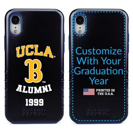Collegiate Alumni Case for iPhone XR – Hybrid UCLA Bruins