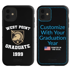 Collegiate Alumni Case for iPhone 11 – Hybrid West Point Black Knights