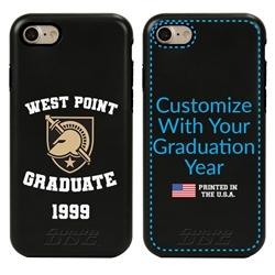 Collegiate Alumni Case for iPhone 7 / 8 / SE – Hybrid West Point Black Knights