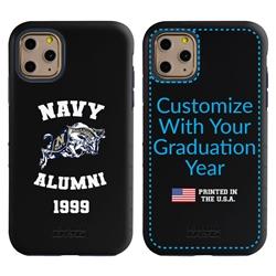 Collegiate Alumni Case for iPhone X / XS – Hybrid Navy Midshipmen