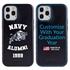 Collegiate Alumni Case for iPhone XS Max – Hybrid Navy Midshipmen