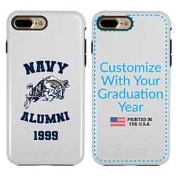 Collegiate Alumni Case for iPhone 11 Pro – Hybrid Navy Midshipmen