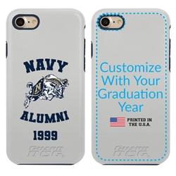 Collegiate Alumni Case for iPhone 11 Pro Max – Hybrid Navy Midshipmen