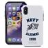 Collegiate Alumni Case for iPhone 12 Pro Max – Hybrid Navy Midshipmen