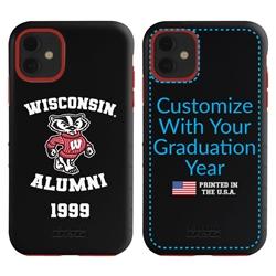 Collegiate Alumni Case for iPhone 7 / 8 / SE – Hybrid Wisconsin Badgers