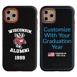 Collegiate Alumni Case for iPhone X / XS – Hybrid Wisconsin Badgers