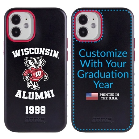 Collegiate Alumni Case for iPhone XR – Hybrid Wisconsin Badgers