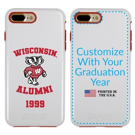 Collegiate Alumni Case for iPhone 11 Pro – Hybrid Wisconsin Badgers