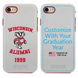 Collegiate Alumni Case for iPhone 11 Pro Max – Hybrid Wisconsin Badgers
