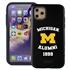 Collegiate Alumni Case for iPhone 11 Pro Max – Hybrid Michigan Wolverines
