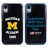 Collegiate Alumni Case for iPhone XR – Hybrid Michigan Wolverines