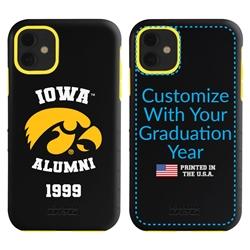 Collegiate Alumni Case for iPhone 11 – Hybrid Iowa Hawkeyes
