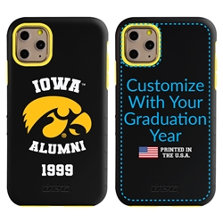 Collegiate Alumni Case for iPhone 11 Pro – Hybrid Iowa Hawkeyes