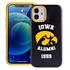 Collegiate Alumni Case for iPhone 12 Mini – Hybrid Iowa Hawkeyes