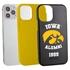 Collegiate Alumni Case for iPhone 12 Pro Max – Hybrid Iowa Hawkeyes