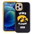 Collegiate Alumni Case for iPhone 12 / 12 Pro – Hybrid Iowa Hawkeyes