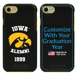 Collegiate Alumni Case for iPhone 7 / 8 / SE – Hybrid Iowa Hawkeyes