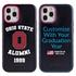 Collegiate Alumni Case for iPhone 12 / 12 Pro – Hybrid Ohio State Buckeyes
