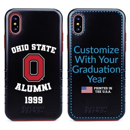 Collegiate Alumni Case for iPhone XS Max – Hybrid Ohio State Buckeyes