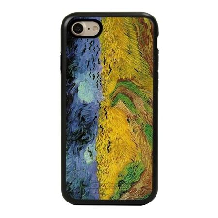 Famous Art Case for iPhone 7 / 8 / SE – Hybrid – (Van Gogh – Wheat Field)