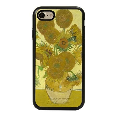 Famous Art Case for iPhone 7 / 8 / SE – Hybrid – (Van Gogh – Sunflowers)