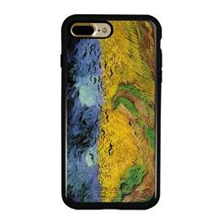 Famous Art Case for iPhone 7 Plus / 8 Plus – Hybrid – (Van Gogh – Wheat Field)