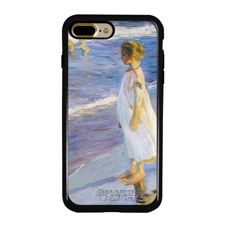 Famous Art Case for iPhone 7 Plus / 8 Plus – Hybrid – (Sorollla – The Beach)