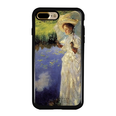 Famous Art Case for iPhone 7 Plus / 8 Plus – Hybrid – (Sargent – Morning Walk)
