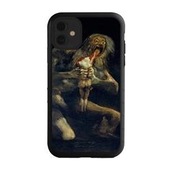 Famous Art Case for iPhone 11 – Hybrid – (De Goya – Saturno Devouring his Son)