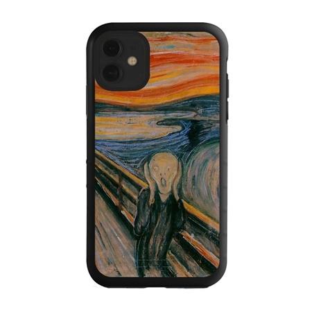 Famous Art Case for iPhone 11 – Hybrid – (Munch – The Scream)