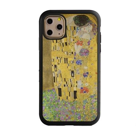 Famous Art Case for iPhone 11 Pro – Hybrid – (Klimt – The Kiss)