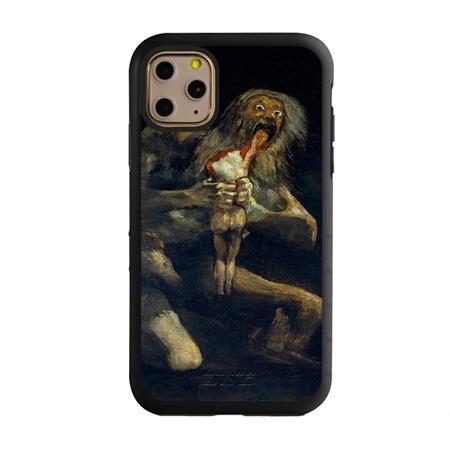 Famous Art Case for iPhone 11 Pro Max – Hybrid – (De Goya – Saturno Devouring his Son)