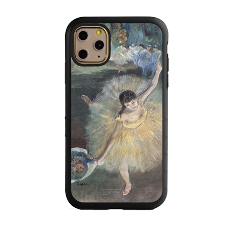 Famous Art Case for iPhone 11 Pro Max – Hybrid – (Degas – Fin d'arabesque)
