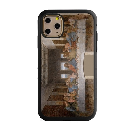Famous Art Case for iPhone 11 Pro Max – Hybrid – (Da Vinci – The Last Supper)