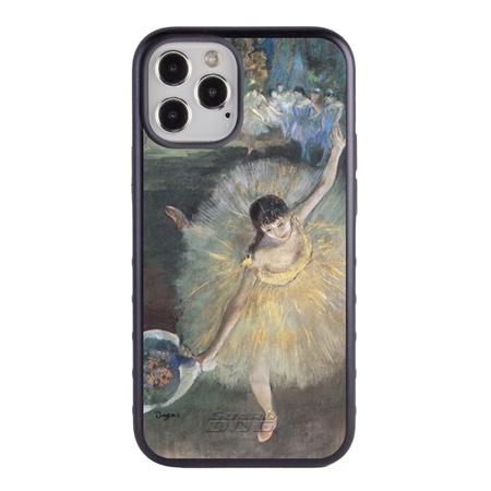 Famous Art Case for iPhone 12 / 12 Pro – Hybrid – (Degas – Fin d'arabesque)