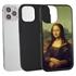 Famous Art Case for iPhone 12 / 12 Pro – Hybrid – (Da Vinci – Mona Lisa)